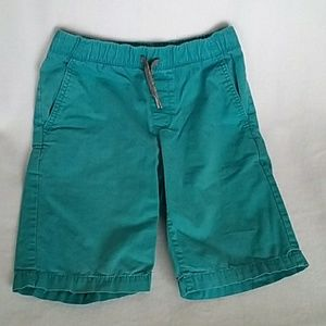 Boys Old Navy teal shorts size 10/12